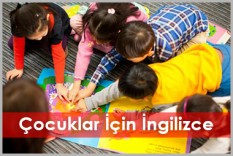 Çocuklar İçin İngilizce Kursu