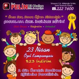 23 Nisan Özel Kampanyası
