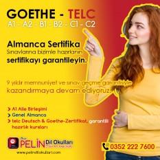B1 Almanca Goethe, Telc Sertifika Kursu