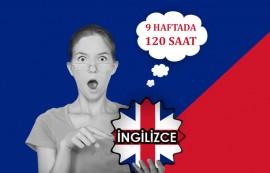 Hızlandırılmış İngilizce Kursu Kayıtları Başladı !