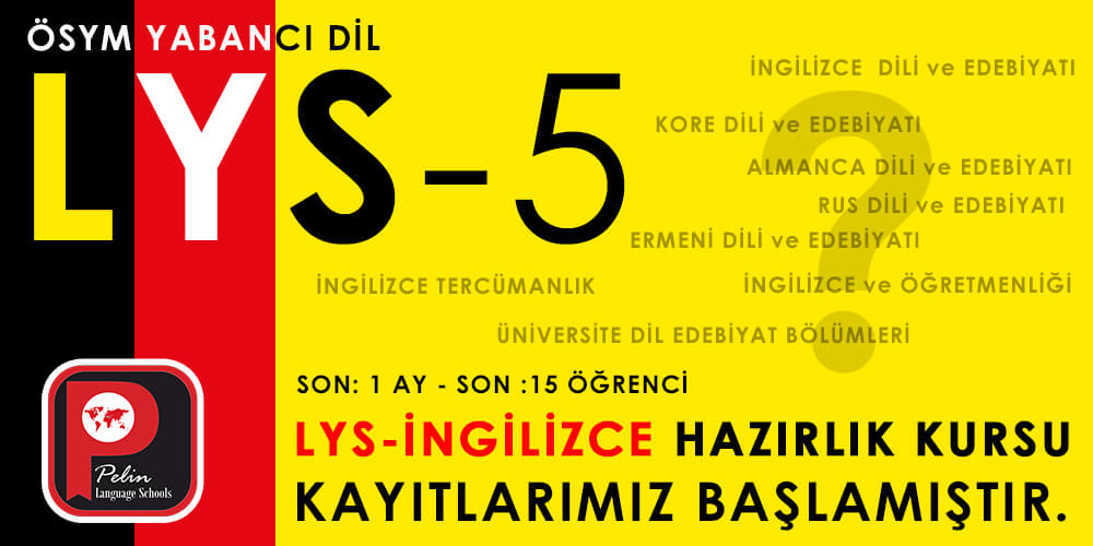 LYS-5 İngilizce Hazırlık Kursu